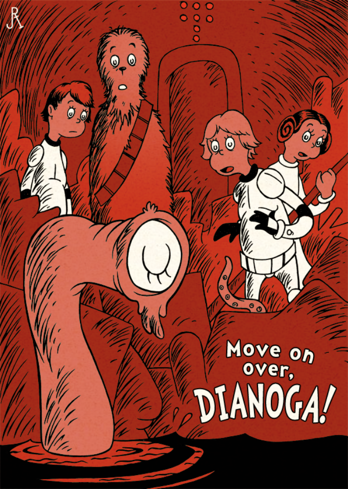 Seuss Move On Over Dianoga