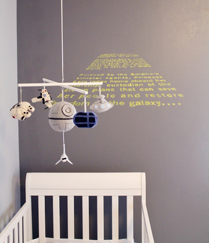 Star Wars Themed Baby Nursery