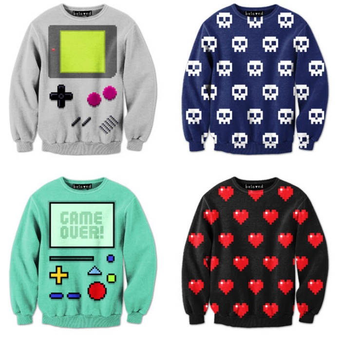 Video Game Sweatshirts