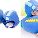 Mega Man Arm Cannon Pillow And Helmet Set