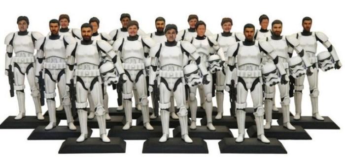 3D Printed Stormtroopers