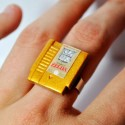 Miniature Nintendo Cartridge Jewelry that Gamers Will Adore