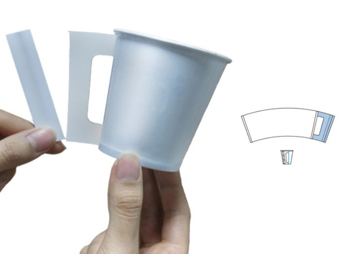 Paper Cup with Stirrer