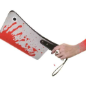 Clutch Bag Looks Like A Bloody Cleaver