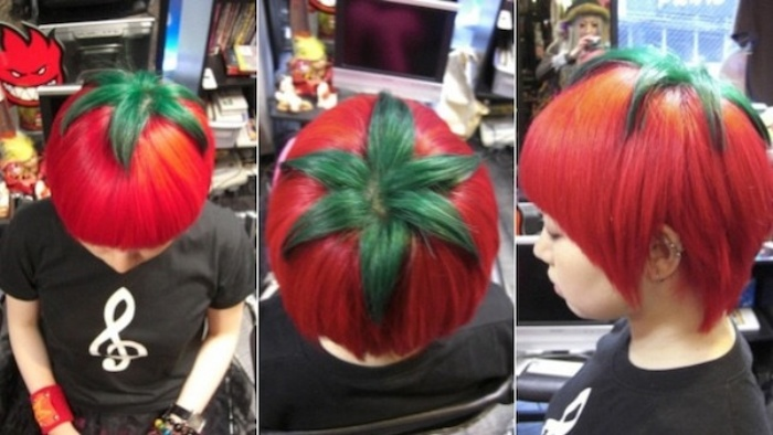 Ripe Tomato Haircut Now You Can Be A Literal Veg Head