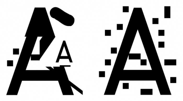 Anti-NSA typeface