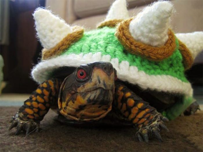 Bowser Sweater