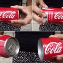 Concept Coca-Cola Can: Share Happiness…Literally
