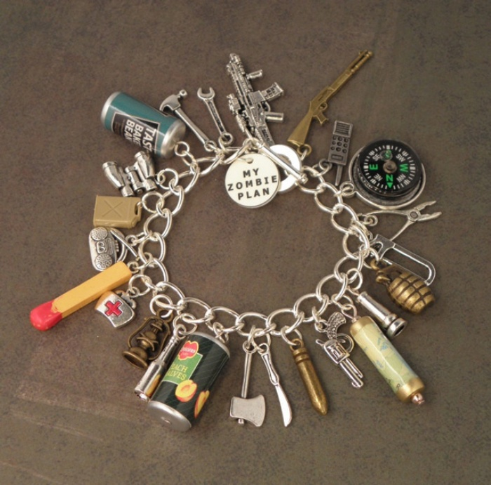 Zombie Charm Bracelet