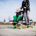 Both You And Your Kid Will Get A Kick Out Of The Longboard Stroller
