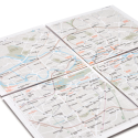 Map², The Folding Zoomable Paper Map, Expands To Other Cities