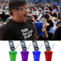 So It's Come To This: Smartphone Holding Straw/Cup Combo