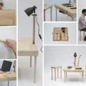 Wooden Transformer: Boxed Turns Into a Wide Variety of Wooden Furniture