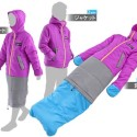 Doppelganger Jacket Transforms Into a Wearable Sleeping Bag