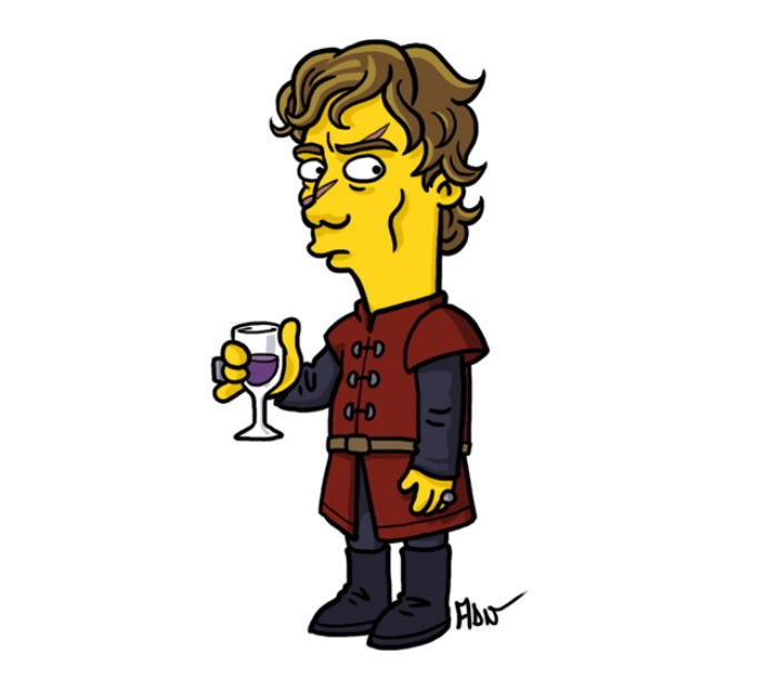 Game of Thrones Simpsons Art2
