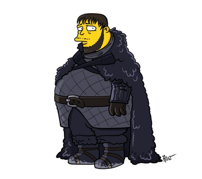 Game of Thrones Simpsons Art5