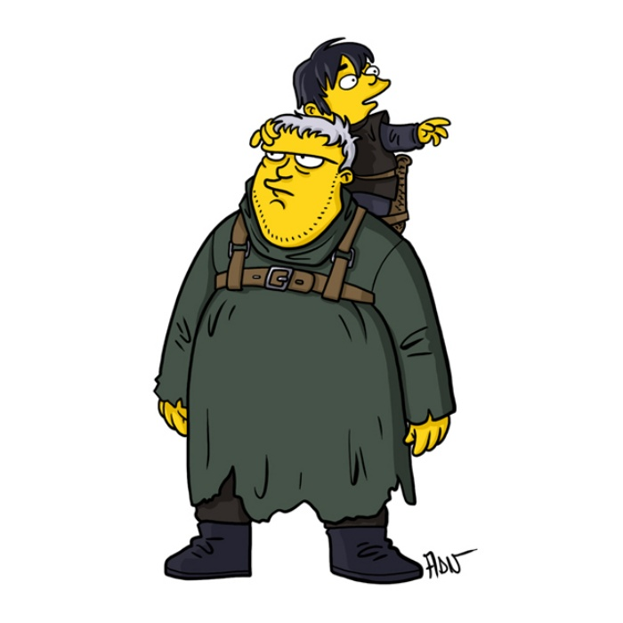 Game of Thrones Simpsons Art6