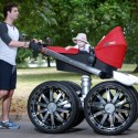 Check Out the Manliest Baby Stroller of All Time