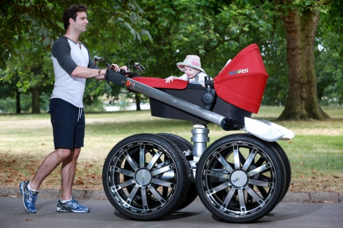 Manly Baby Stroller