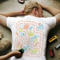 This Shirt Turns Your Back Into a Playmat For Your Kids