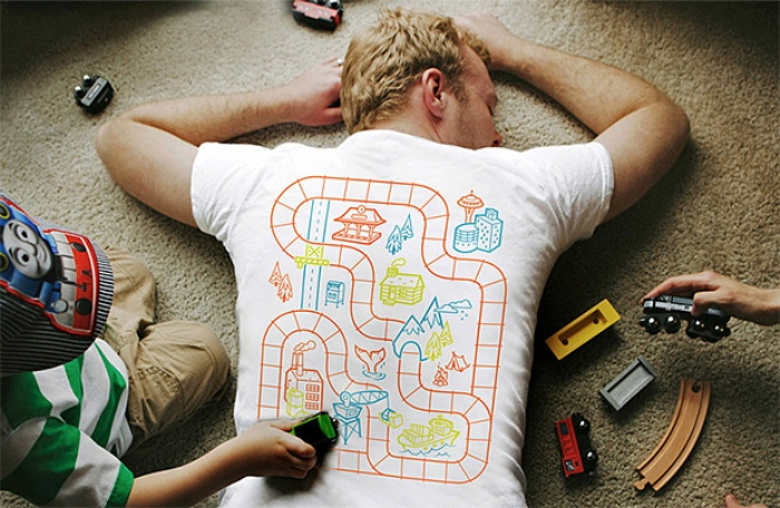 Playmat T-Shirts For Parents