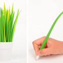 Pens That Camouflage As Grass Brighten Up Your Office