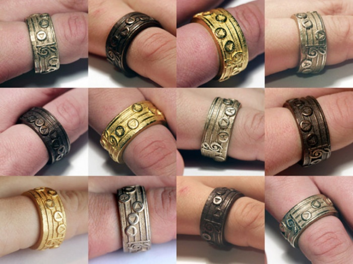 Zelda Songs Rings