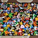 Epic LEGO Mosaic of Video Game Characters