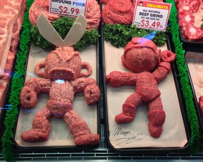 Megaman Meat