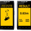 "Brilliant Idea: Smartphone ""Game"" Challenges You To Throw Your Phone As High As Possible"