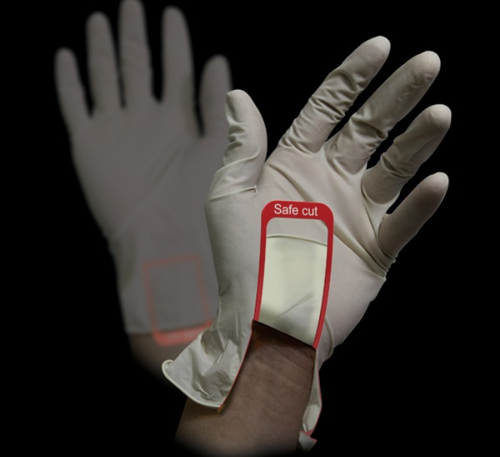 Safe Cut Surgical Glove