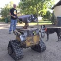 Dude Builds An Adorably Awesome Real-Life Wall-E Robot