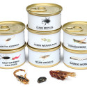 Bacon And Cheese Grasshoppers In A Can? You Had Us At Bacon