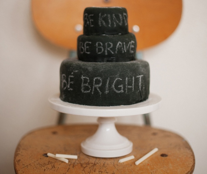 Edible Cake and Chalk