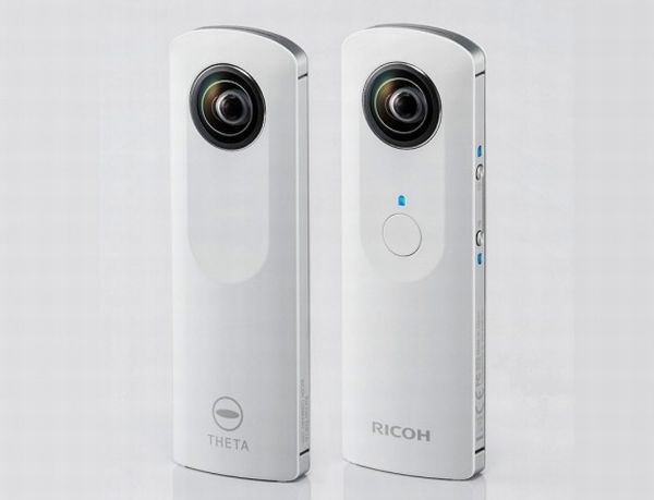 Ricoh-Theta-spherical-camera