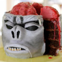 DIY: Indiana Jones Monkey Brain Cake