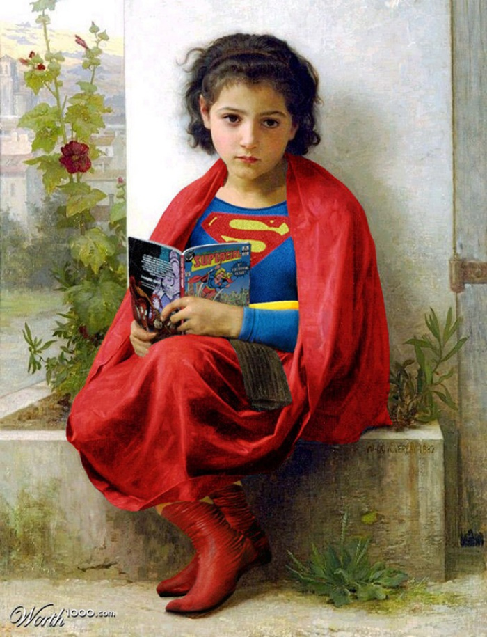 Classic Superhero Paintings