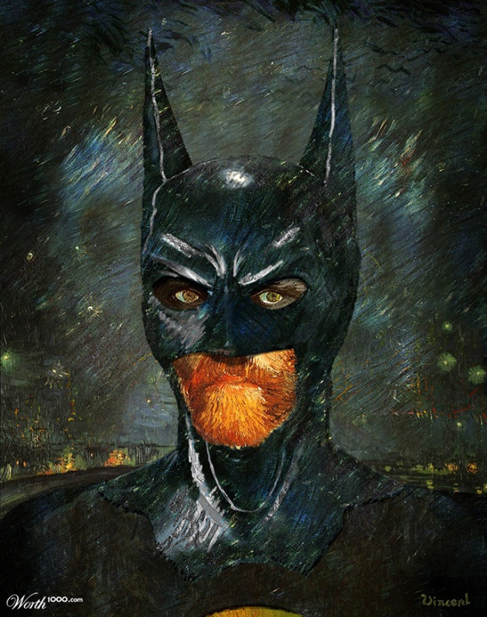 Classic Superhero Paintings1