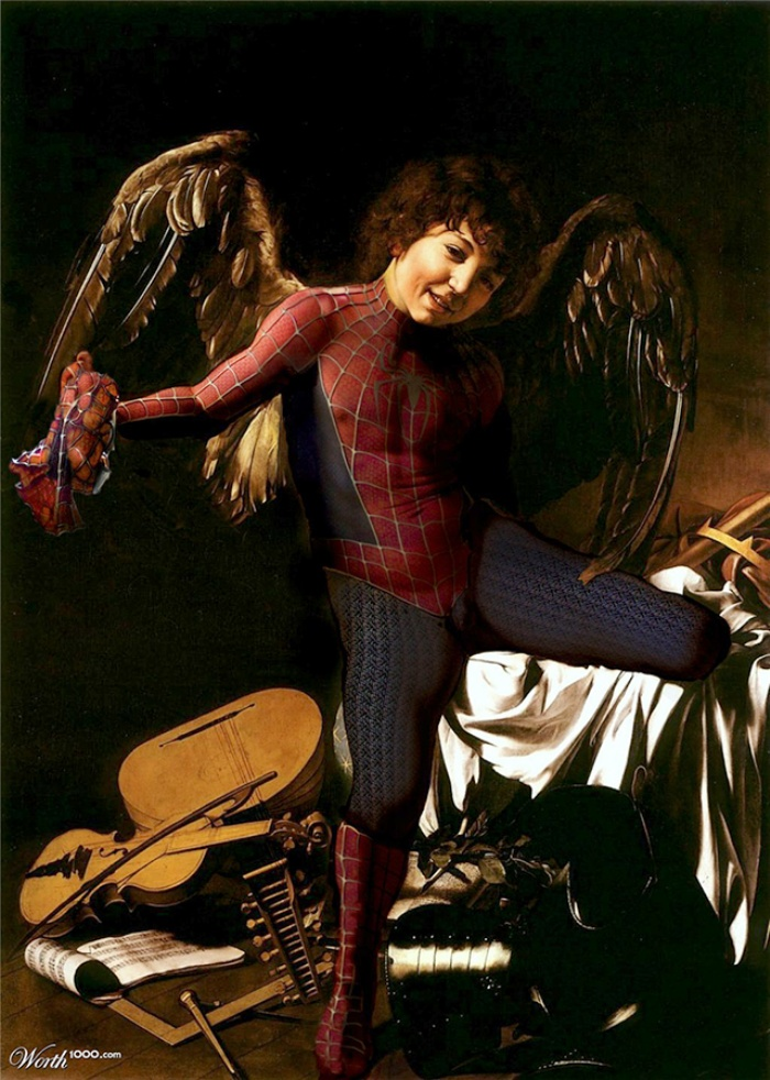 Classic Superhero Paintings2