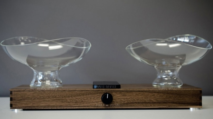 Glass Bowl Speakers