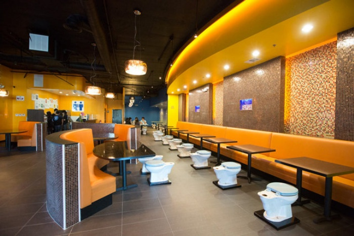 Grody Toilet Restaurant