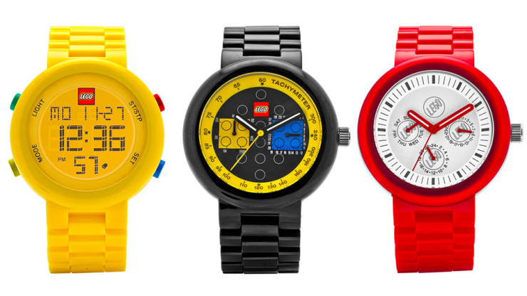LEGO-watches