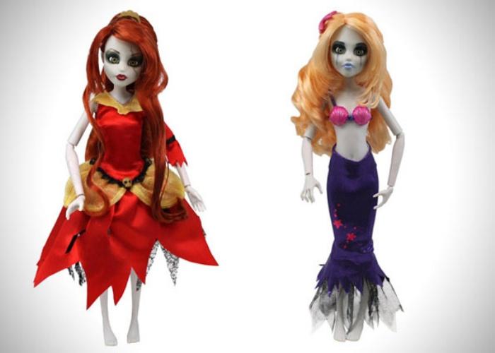Zombie Disney Doll