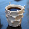 3D Printed Caffeine Coffee Mug