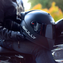 Slick Motorcycle Helmet With An HUD Could Eliminate Blind Spots, Provide GPS Guidance, And Make Your Friends Jealous