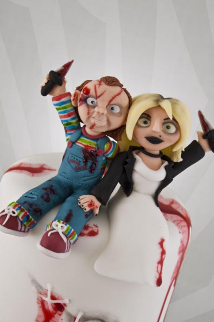Bride of Chucky Cake