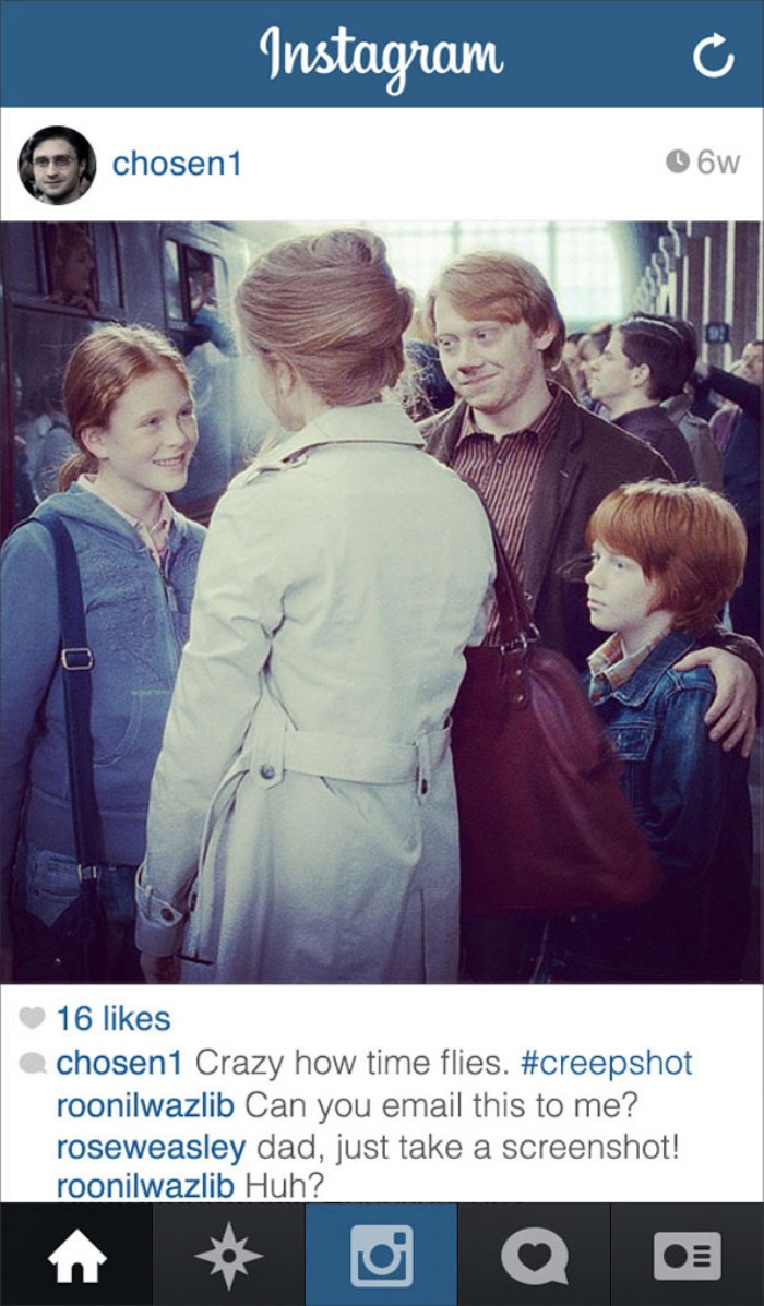Harry Potter Instagram