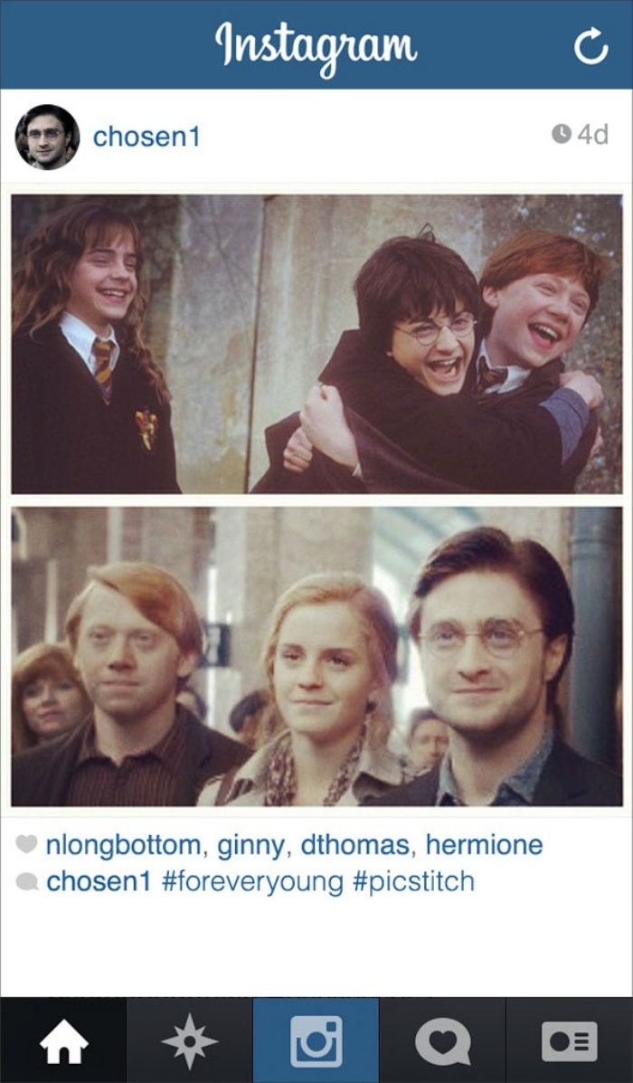Harry Potter Instagram5