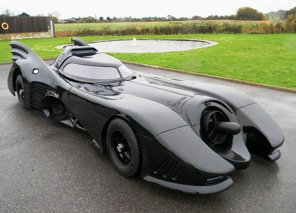 Homemade 1989 Batmobile auction at Mercedes Benz World