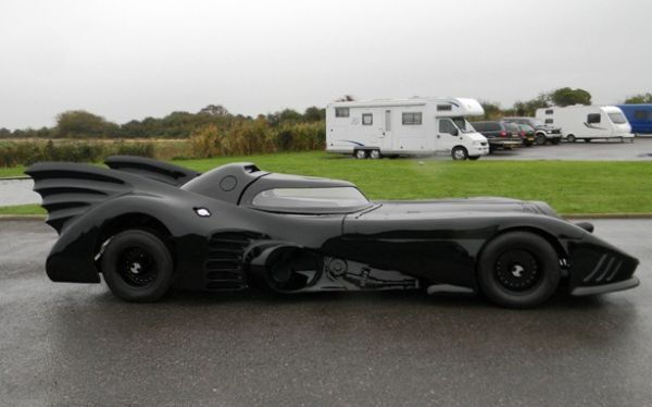 Homemade 1989 Batmobile auction at Mercedes Benz World